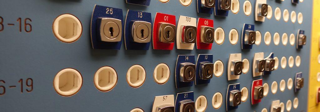 Det nya boknings-systemet i tvättstugan